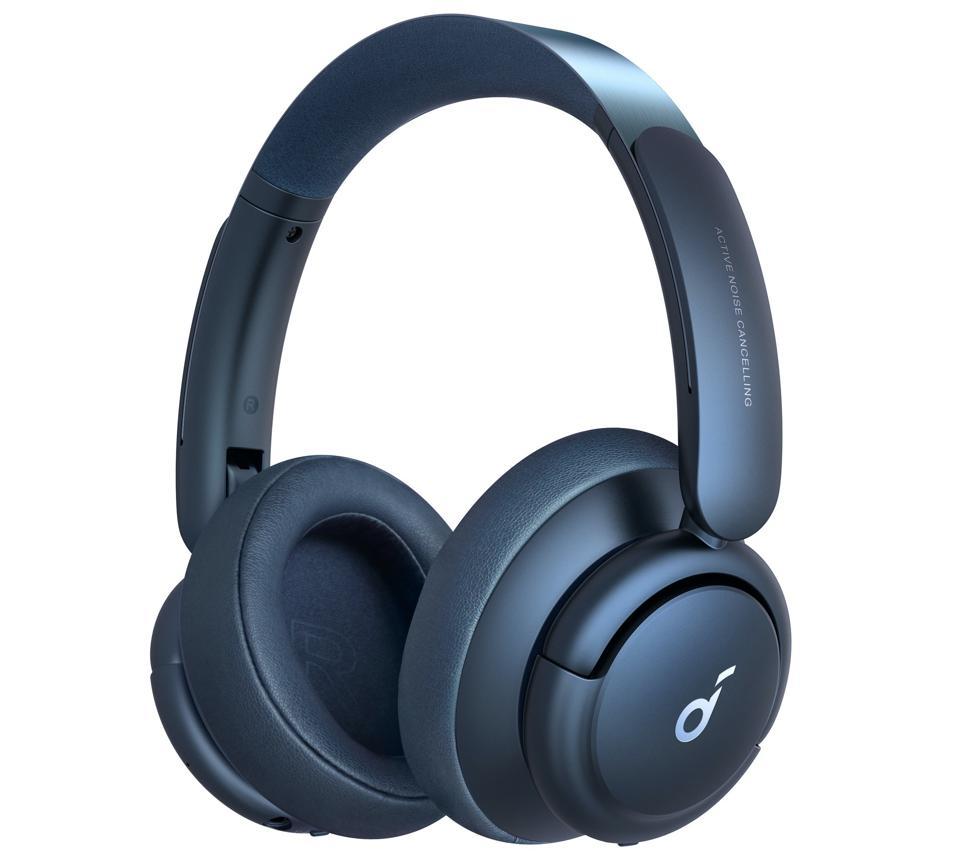 Three-quarter view of Soundcore Life Q35 headphones