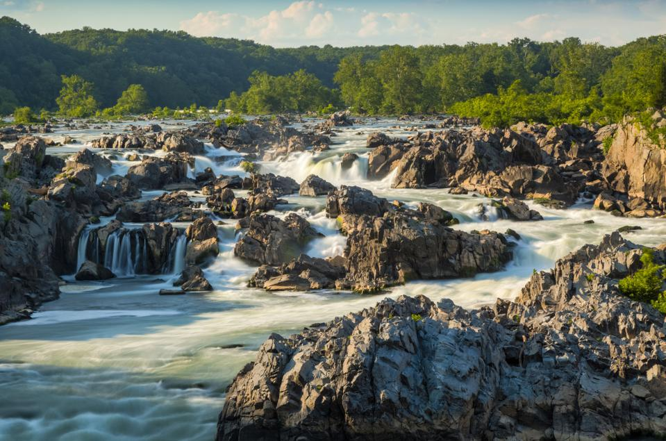 Great Falls National Park, just a 30-minute drive from Washington, D.C.