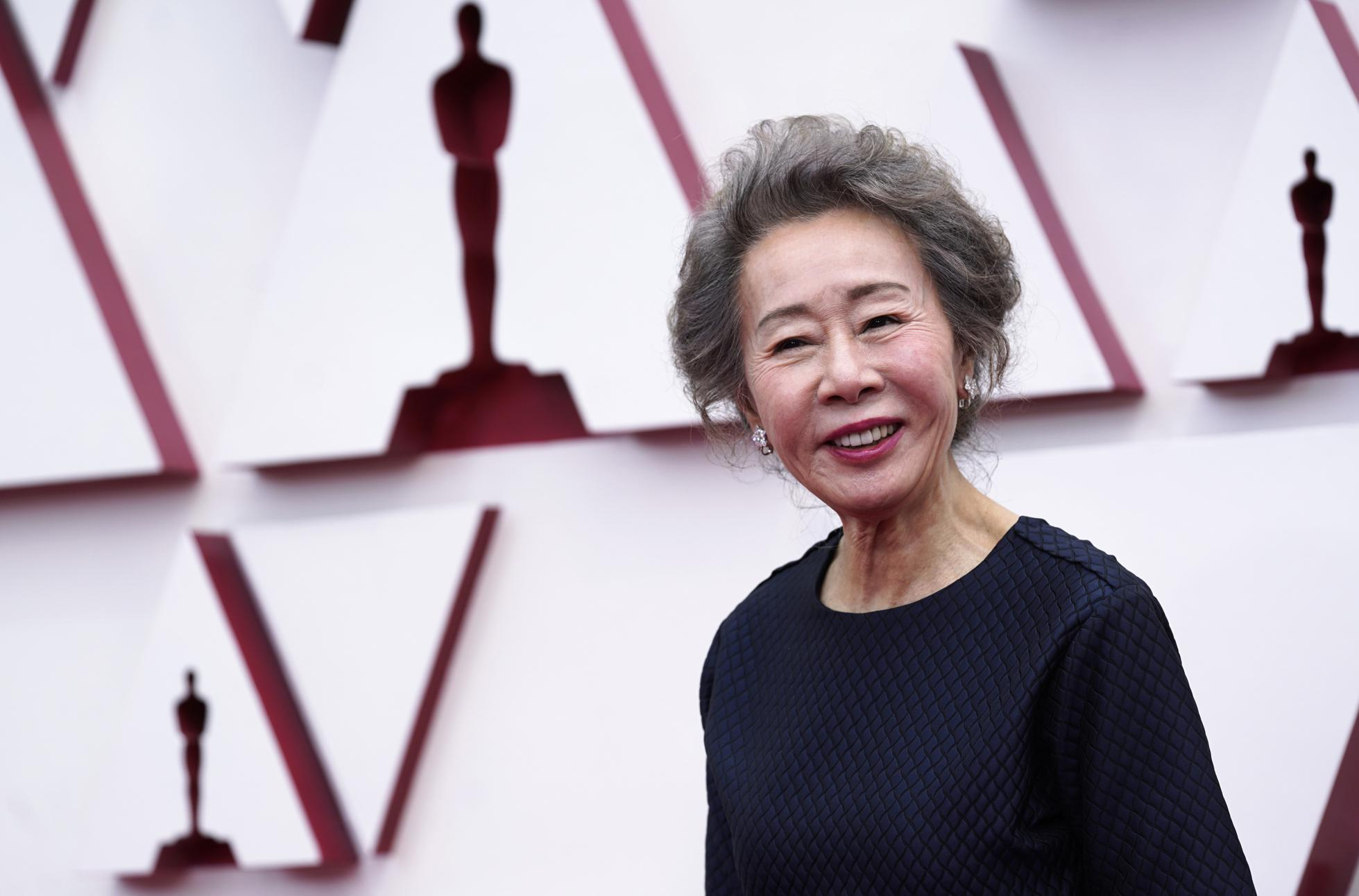 Yuh-Jung Youn won the best supporting actress Oscar