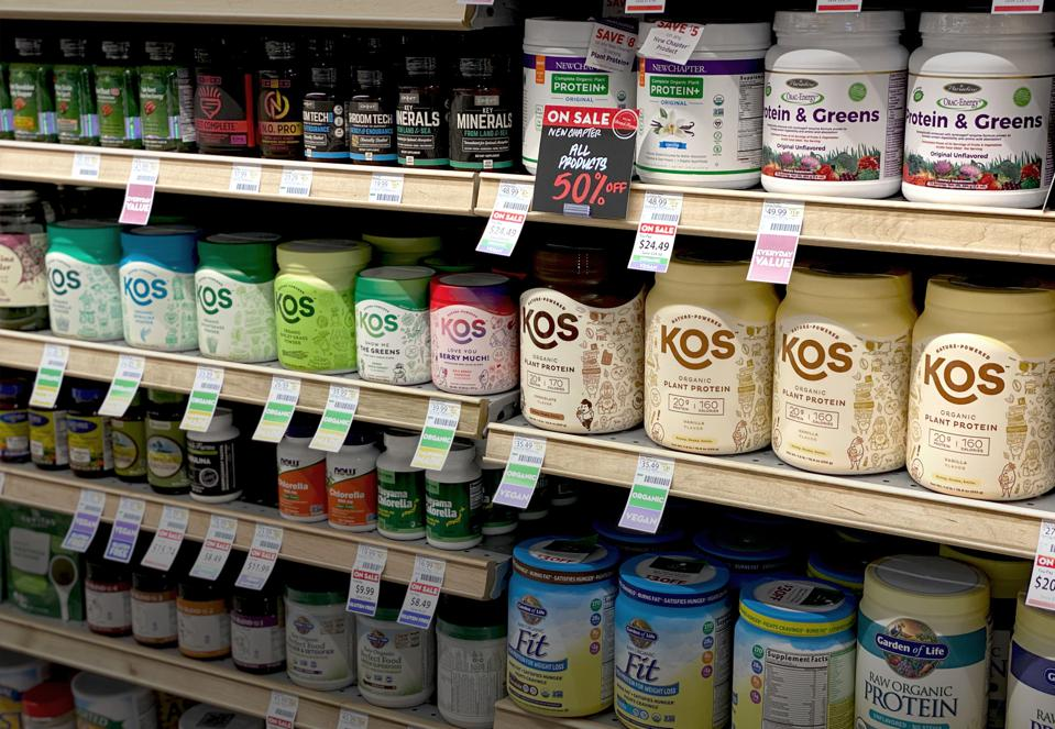 KOS is a plant-based supplements company.