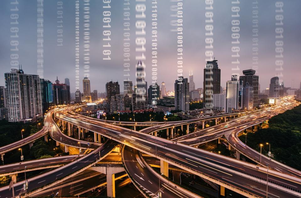 Traffic of Digital City