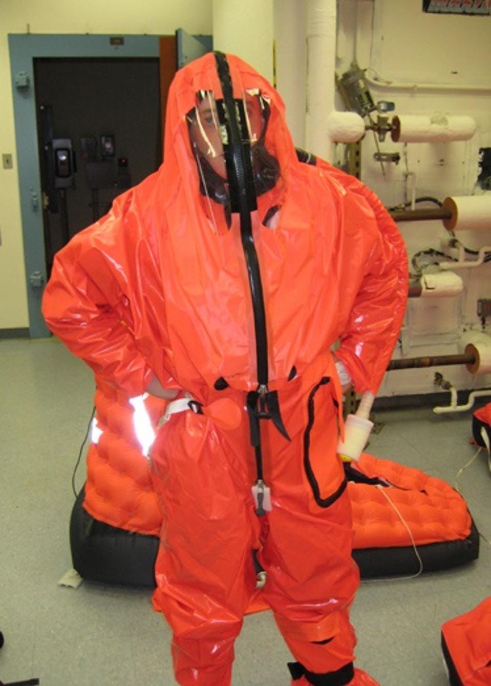 Submarine survival suit
