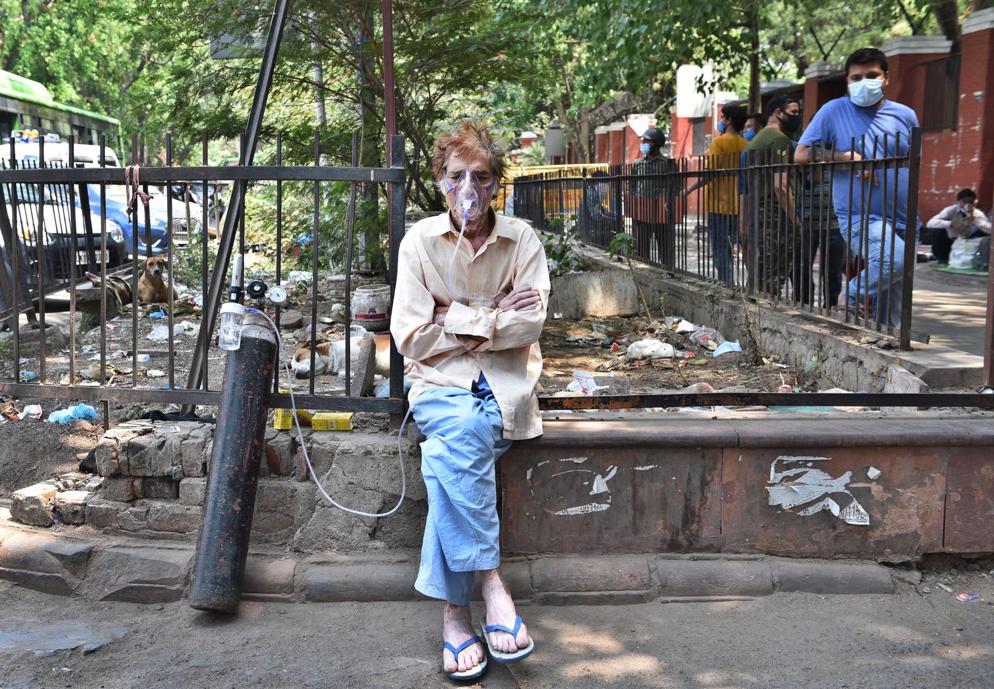 Delhi Hospitals Under Stress Amid Rising Covid Cases
