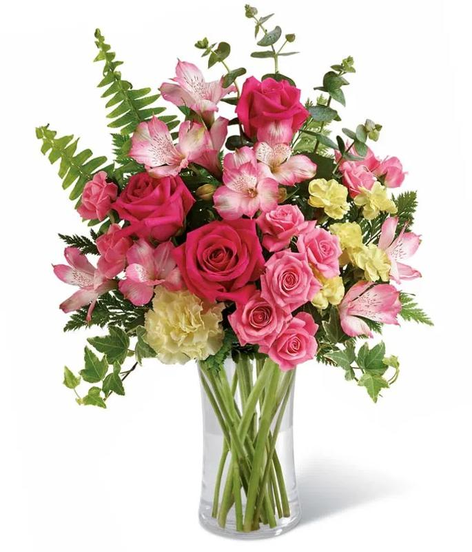 Mother's Day flower deals: Pink Radiance Bouquet at From You Flowers