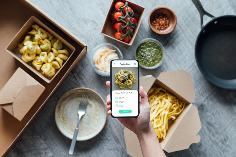 Fresh Recipe Box And Food Delivery