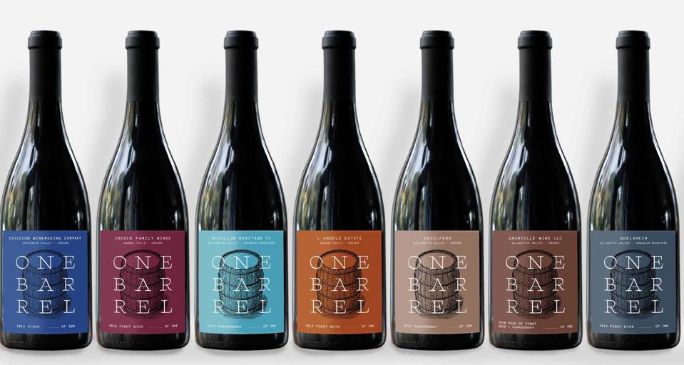 The One Barrel Challenge inaugural release is May 1. Visit the website to purchase wine.