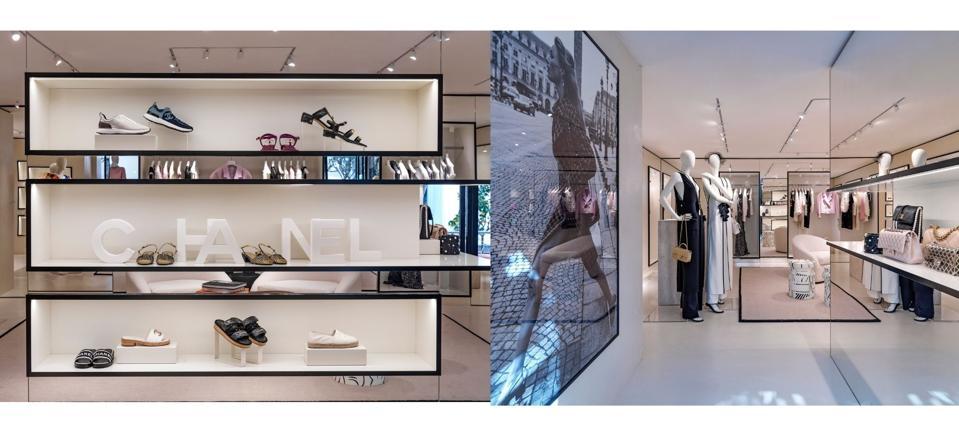 Chanel. Capri boutique