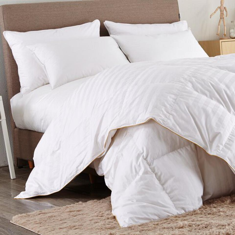 Way Day 2021: Alwyn Home 600In³/Oz Fill Power All Season Goose Down Comforter & Reviews | Wayfair