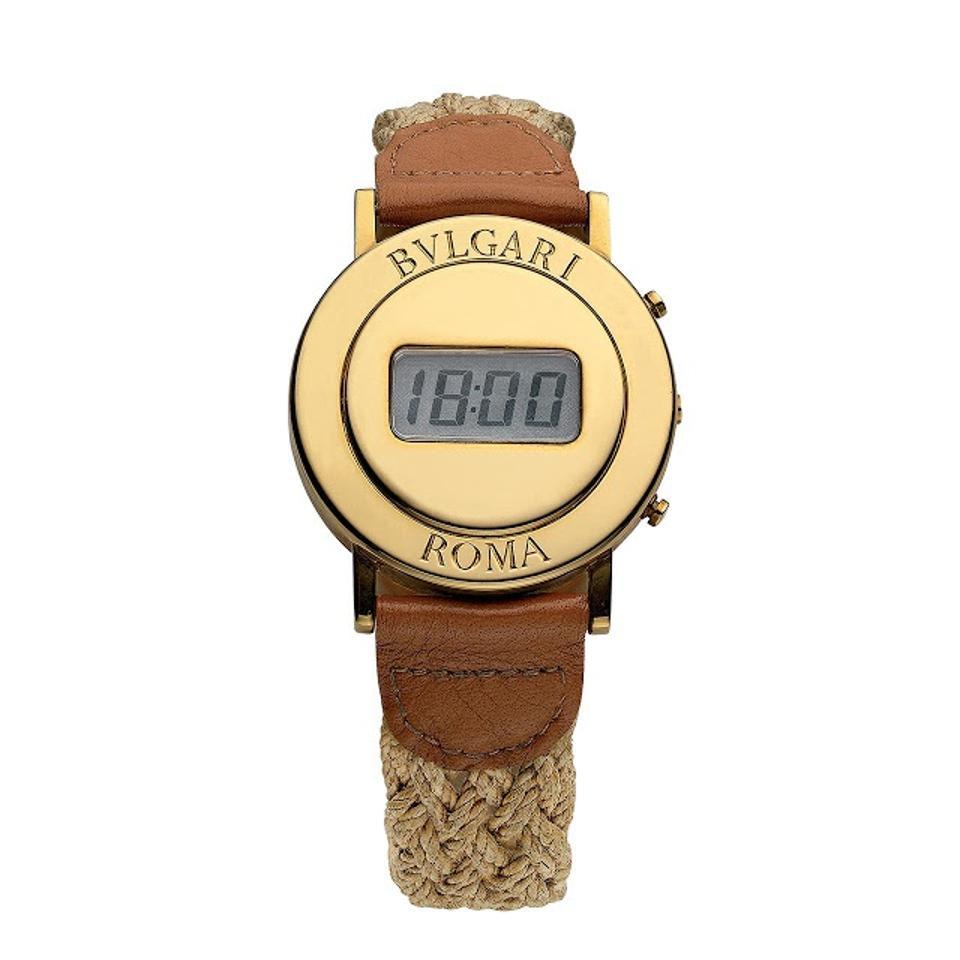 Bulgari Roma digital watch.