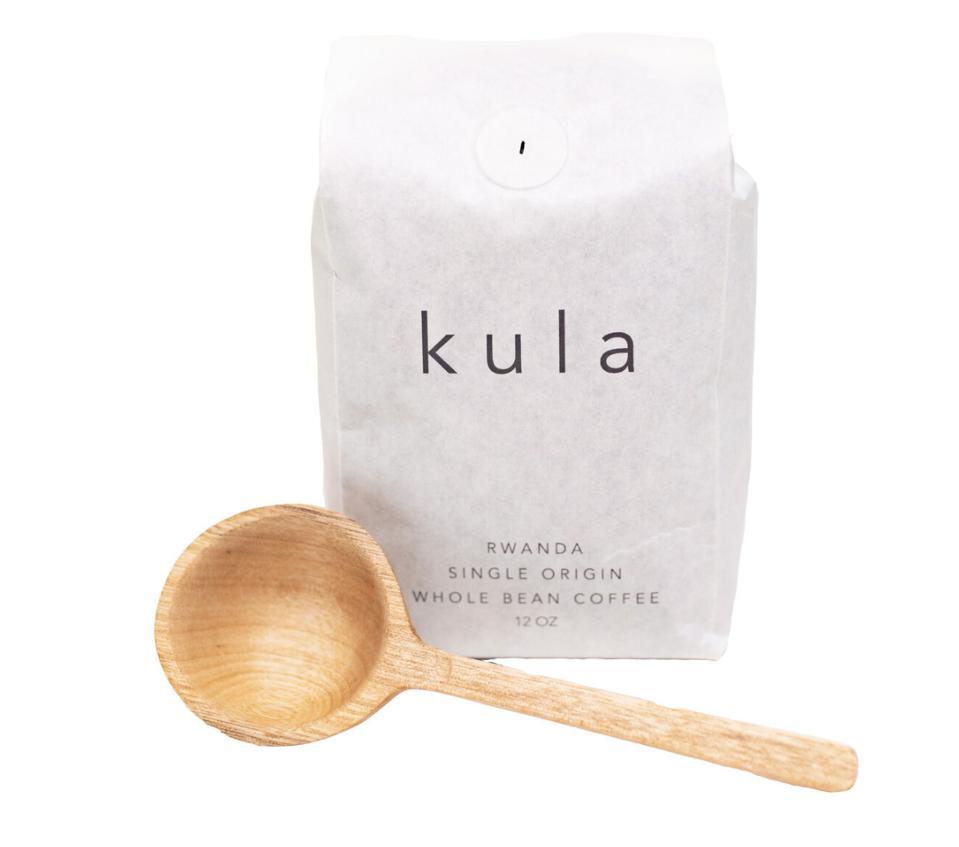 A bag of Rwandan sourced, Kula single origin coffee