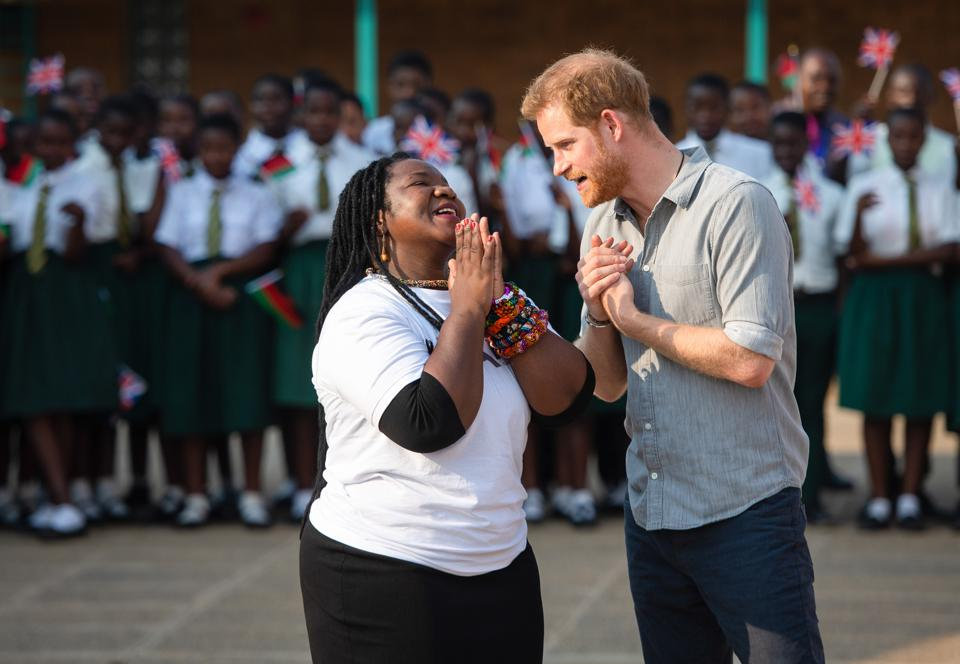 The Duke Of Sussex Visits Malawi - Day One