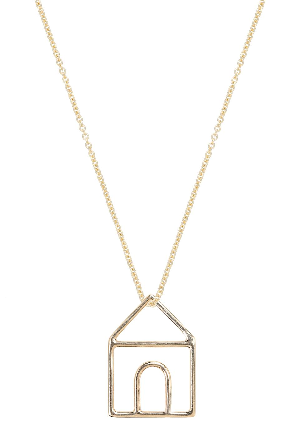 Aliita's iconic Casita Necklace brings home to wherever you are.