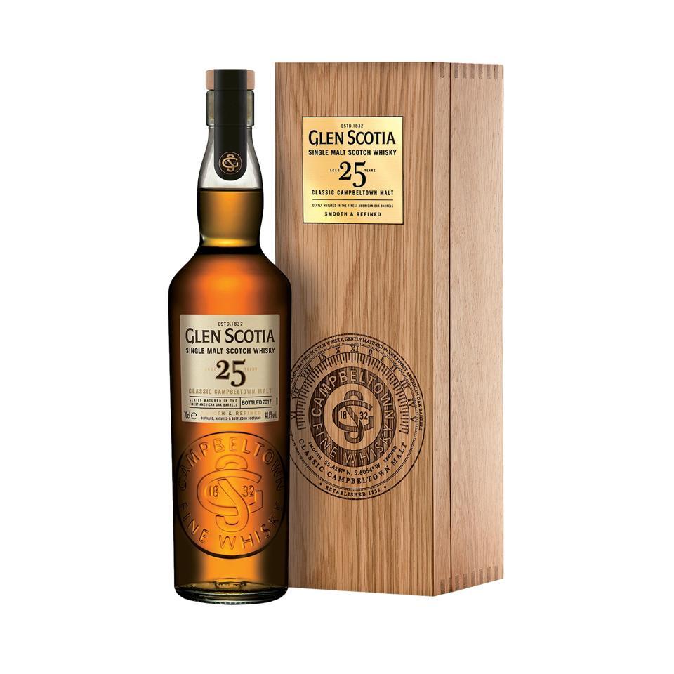 Glen Scotia 25 YO, Single malt Scotch whisky