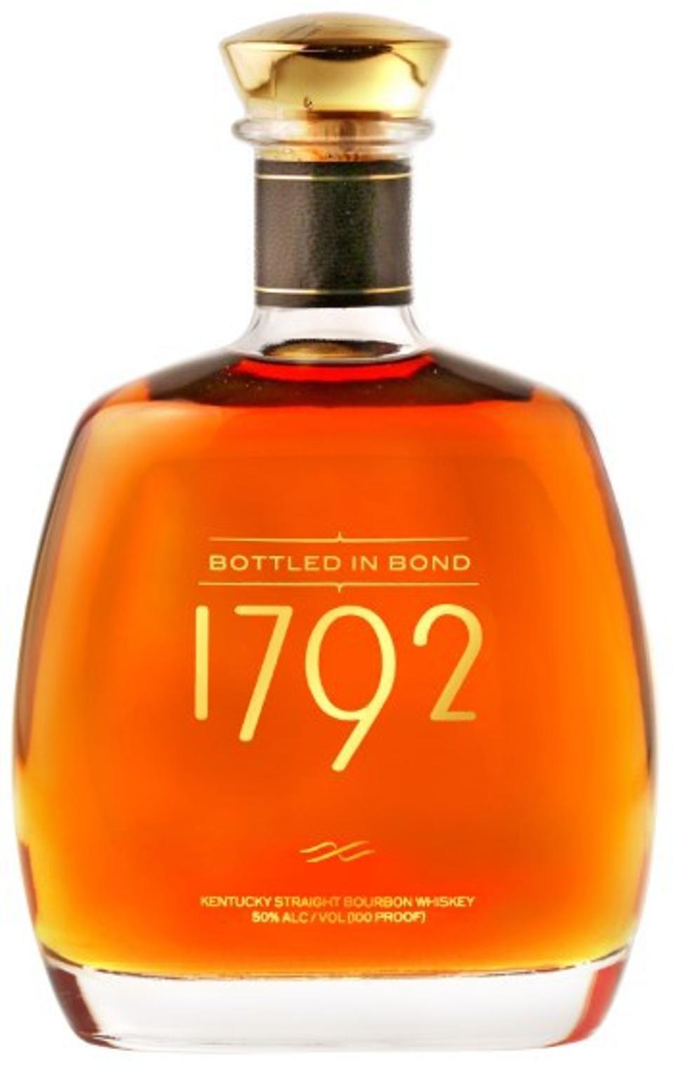 Sazerac, 1792, Bottled in Bond, Kentucky Straight Bourbon