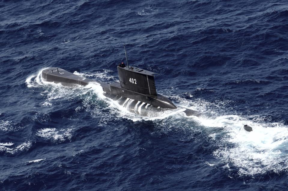 The lost Indonesian Navy submarine KRI Nanggala