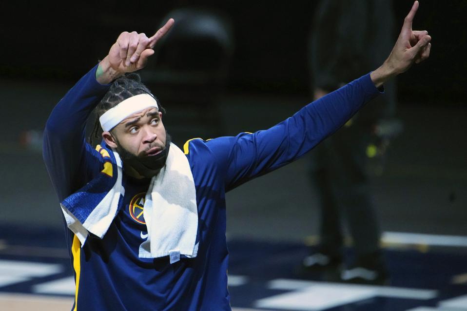 Denver Nuggets Basketball NBA trade deadline JaVale McGee