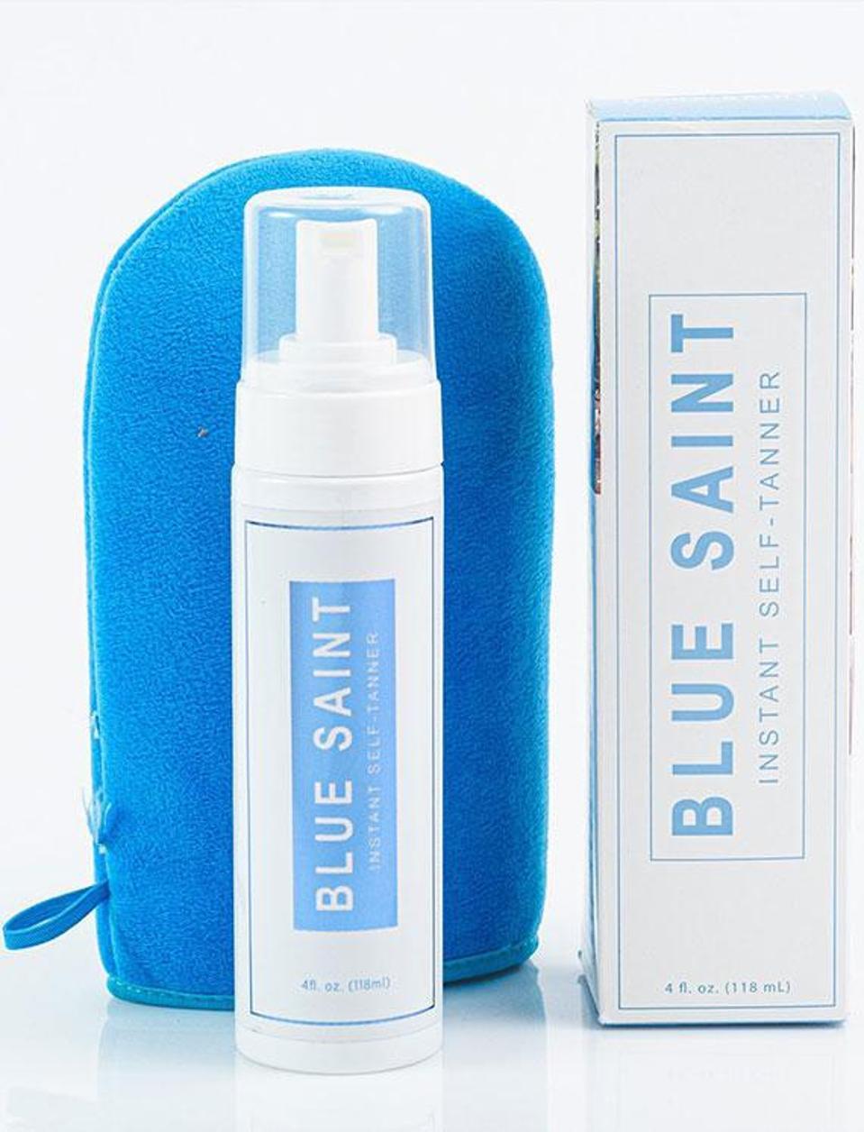 BLUE SAINT Instant Body Self Tanning Foam
