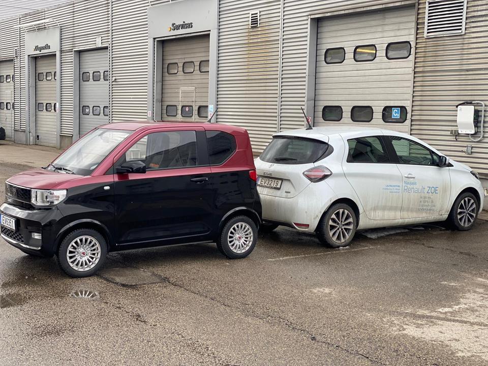 FreZe Nikrob and Renault Zoe