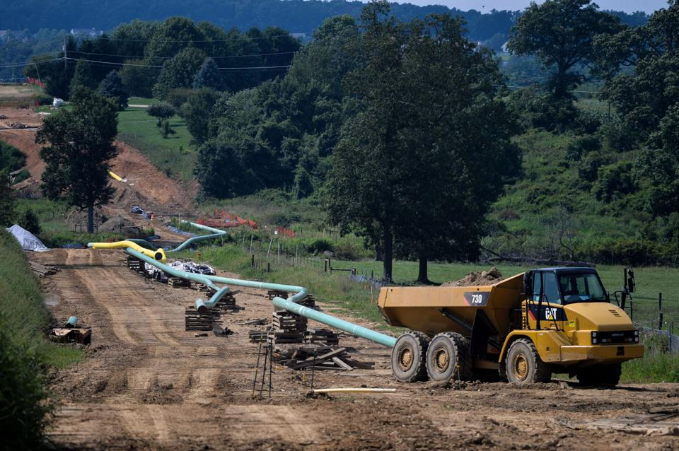Construction Of The Mariner East 2 Pipeline As Energy Transfer Inherits Tiff