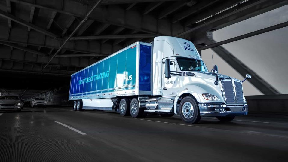 PLUS Self-Driving Trucks