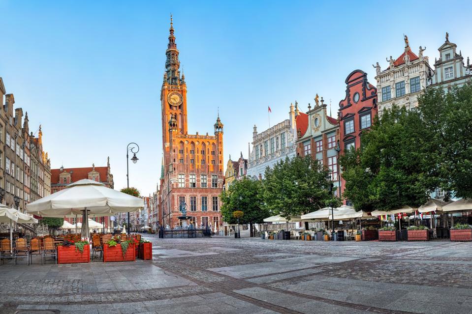 Municipio della Città Vecchia di Kdansk, Polonia