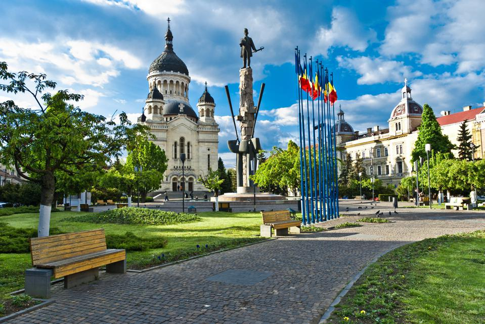 Avram Five Square, Cluj-Napoca, Romania