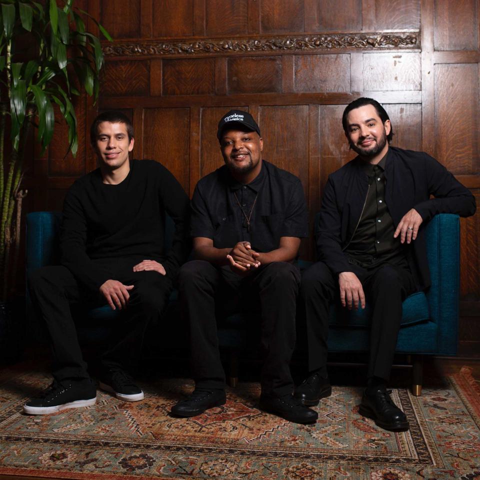 From left to right –Matt Geffen, Jamil Davis, Matt Bauerschmidt