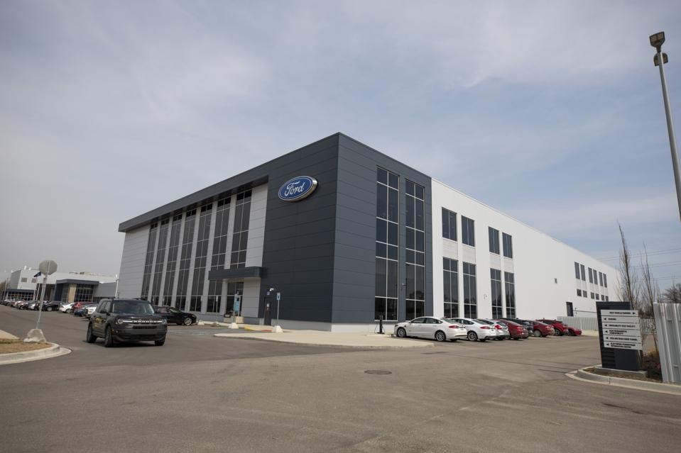 Ford Motor Co.'s Battery Benchmarking and Test Laboratory in Allen Park, Michigan, which opened in late 2020, has 150 test chambers and 325 channels for development work. Experts at the $100 million, 185,000 sq.-ft. lab have analyzed more than 150 different kinds of battery cells.