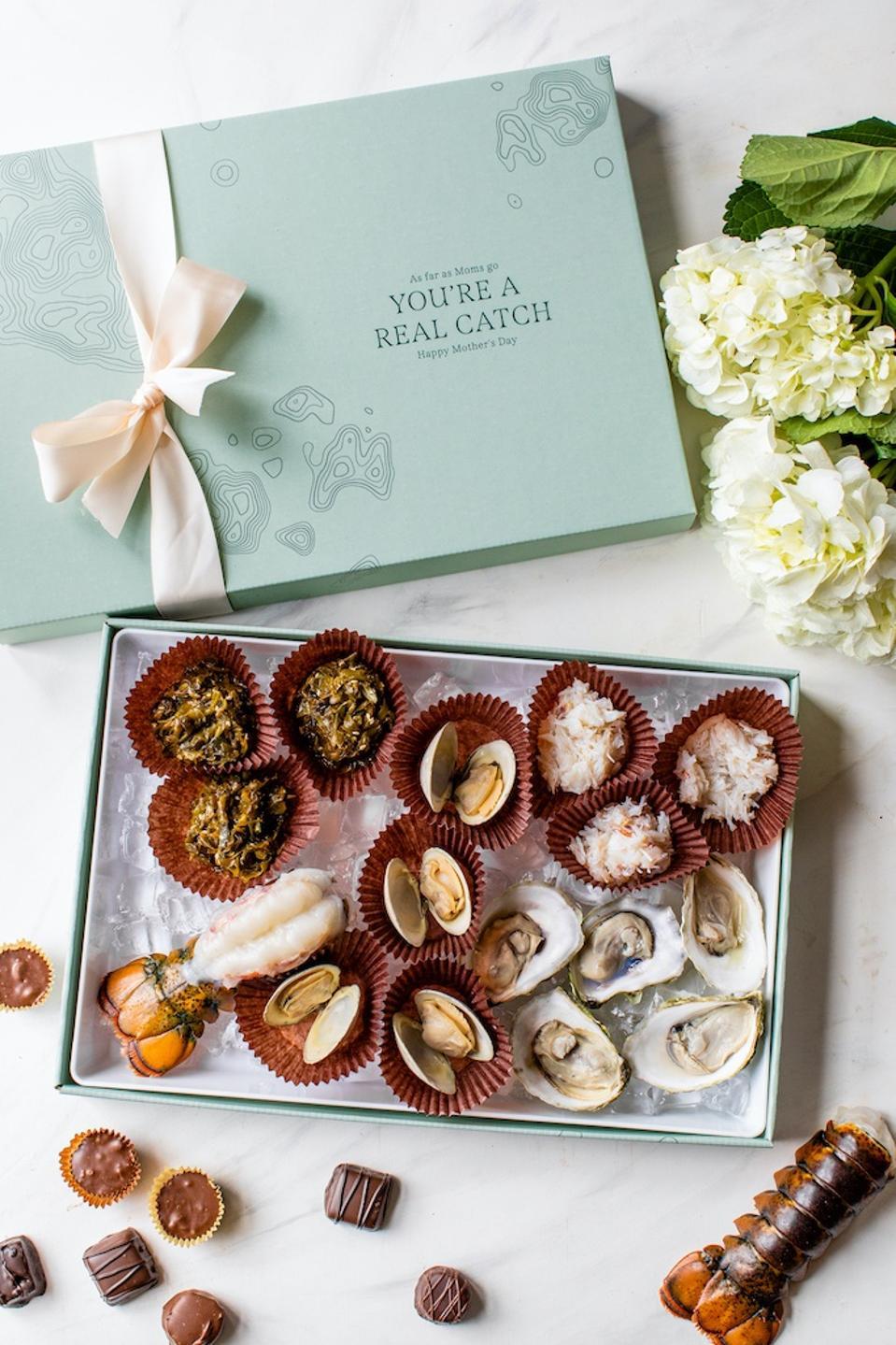 Maine Seafood Sea-lection Box