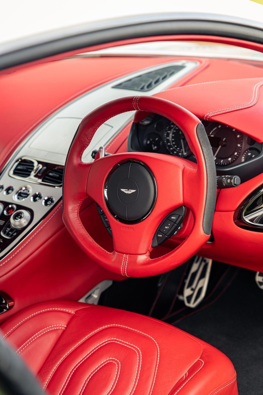 Bridge of Weir creates the leather interior on the Aston Martin One-77