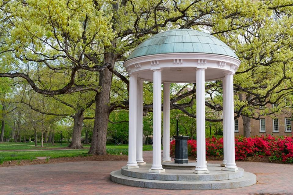 Old Well at University of North Carolina