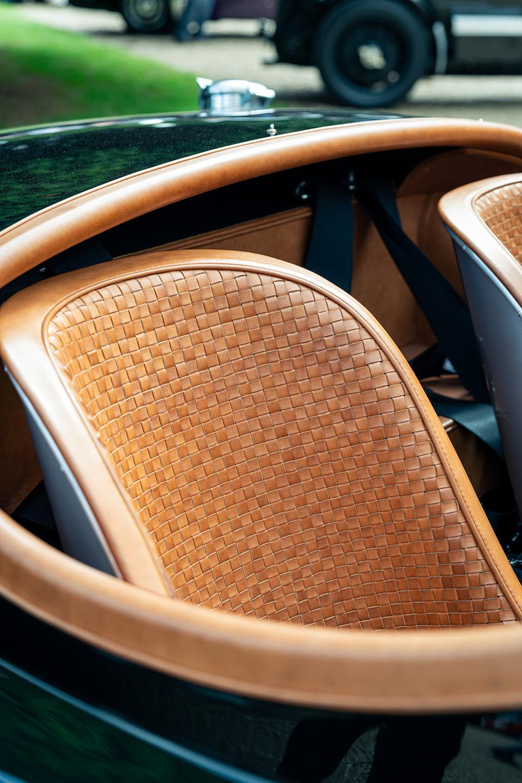 David Gandy's Jaguar XK120 interior by Bridge of Weir