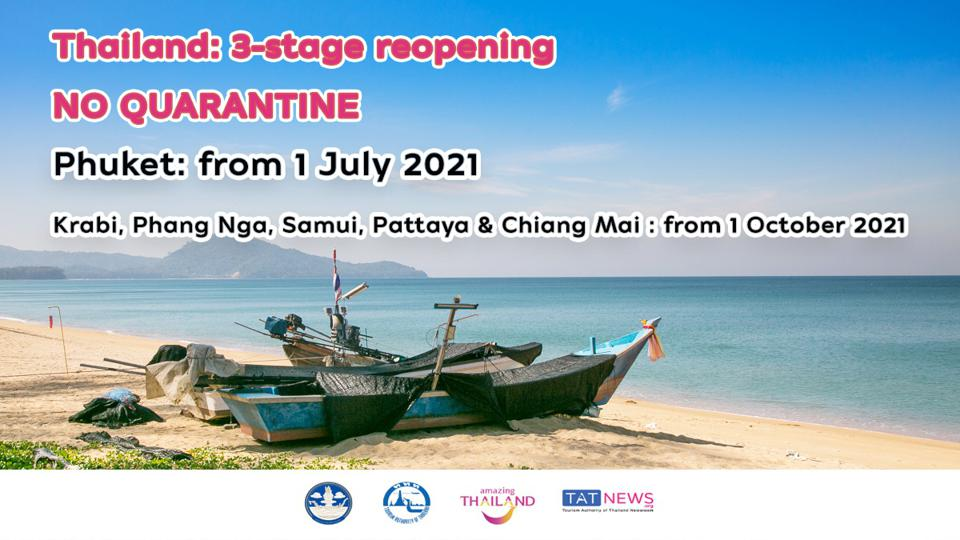 Thailand reopening plan.