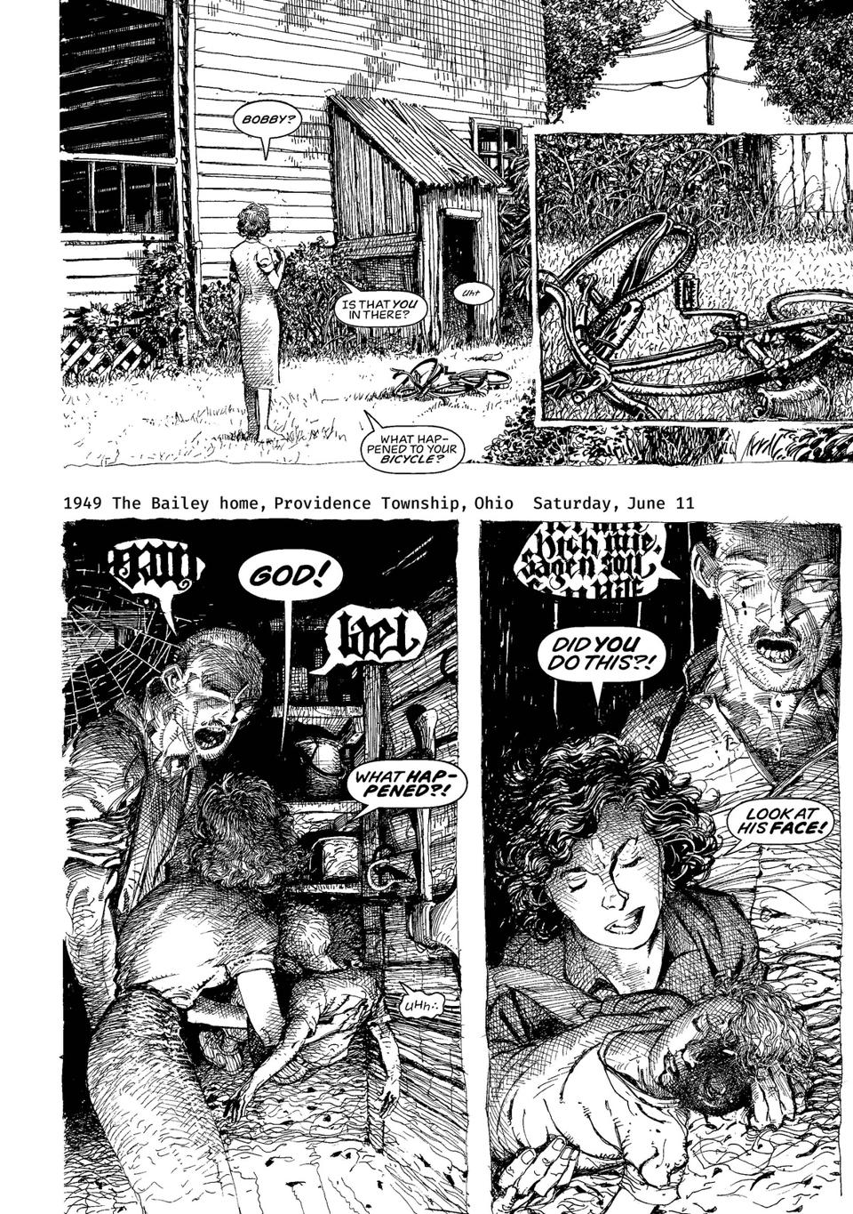 Preview scene from Monsters by Barry Windsor-Smith
