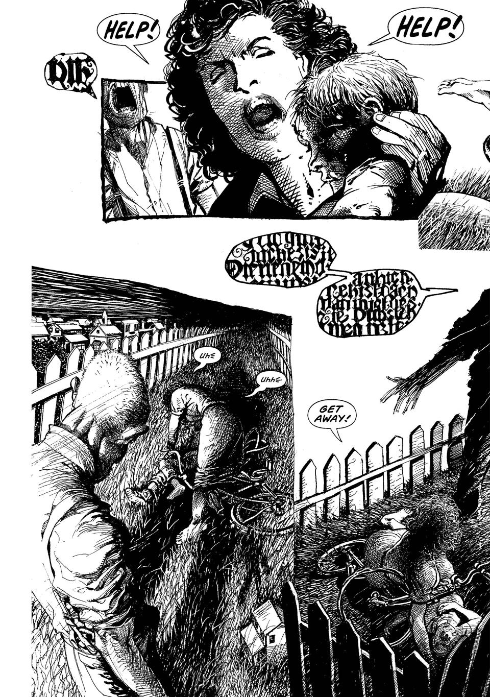 Monsters graphic novel Barry Windsor-Smith
