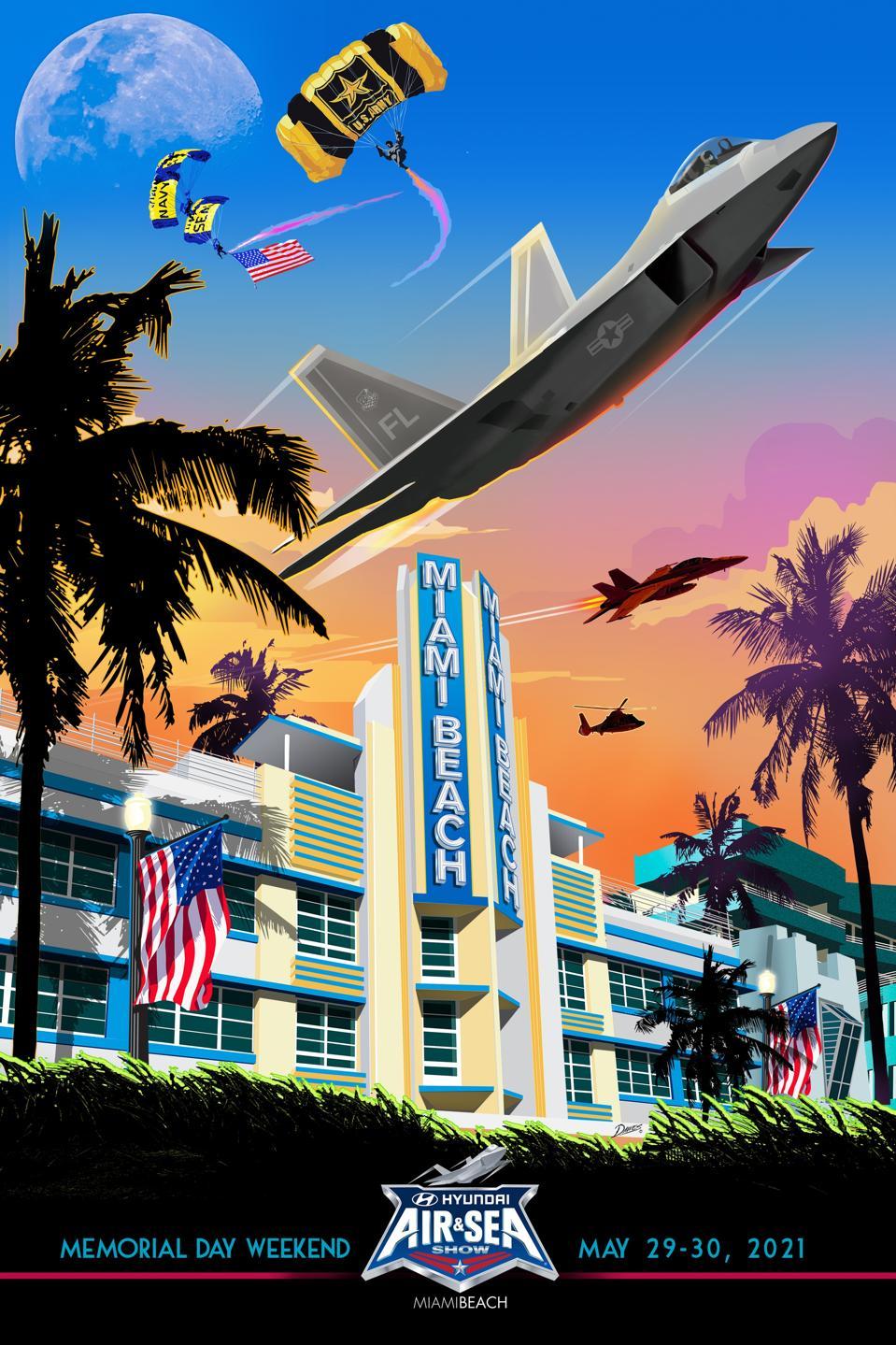 a flyer of Miami Beach