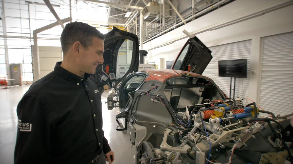 Matt Windle, Managing Director of Lotus Cars.