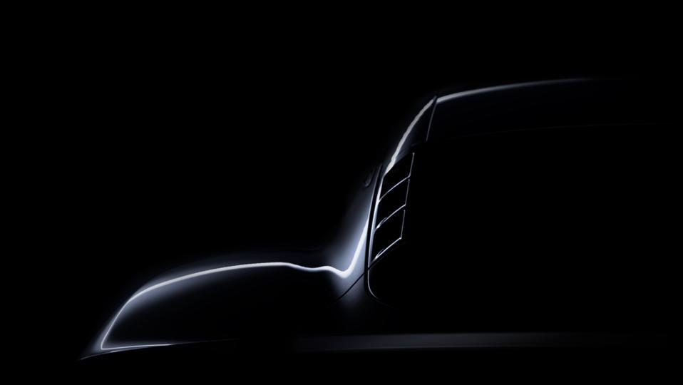 Lotus Emira teaser. The rear haunch.
