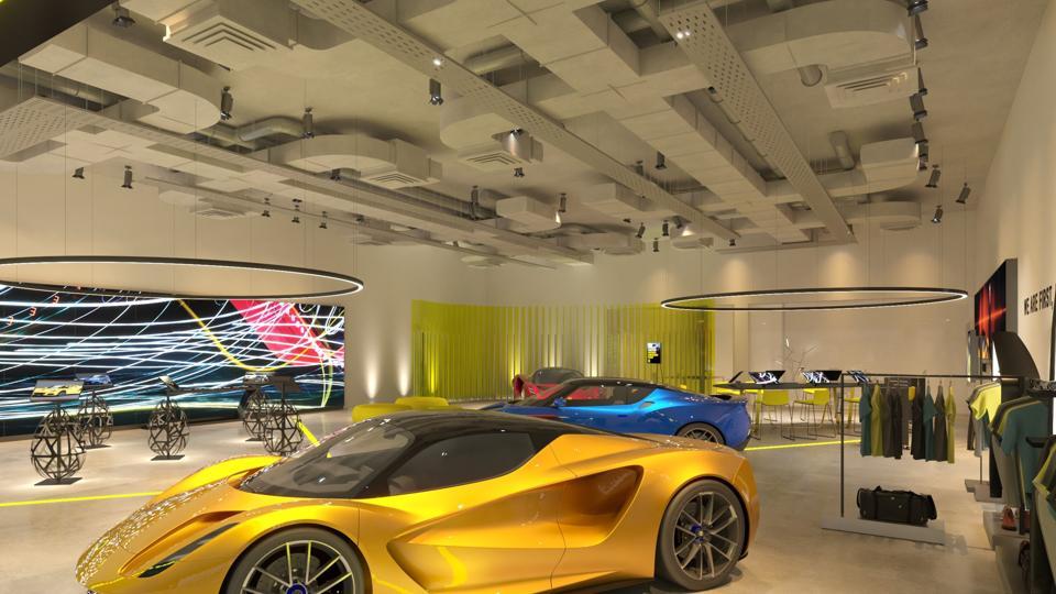 Lotus retail model.