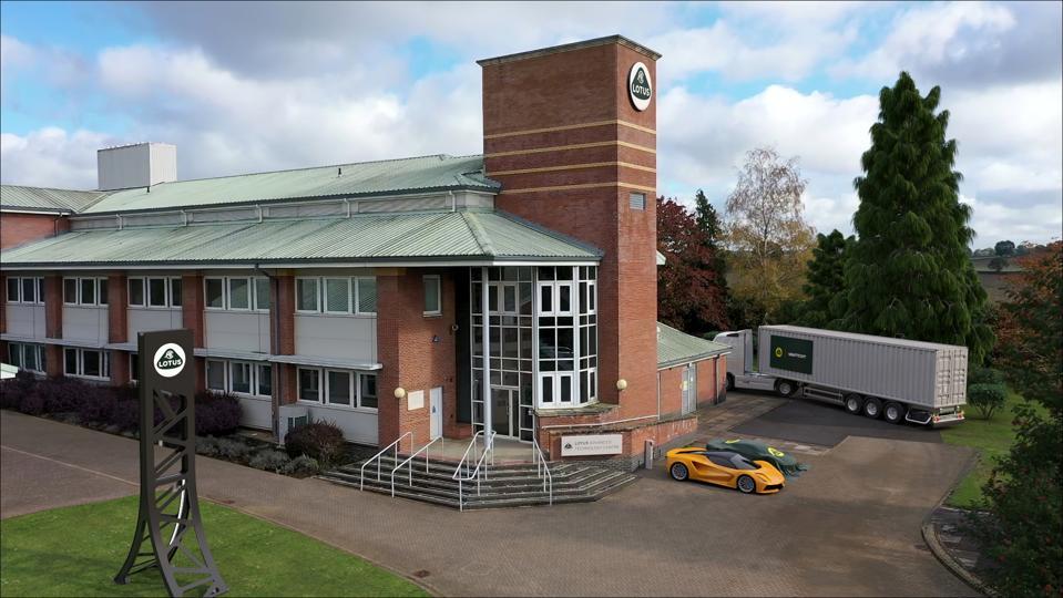 Lotus Tech Center.