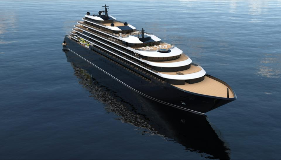 A Ritz Carlton yacht