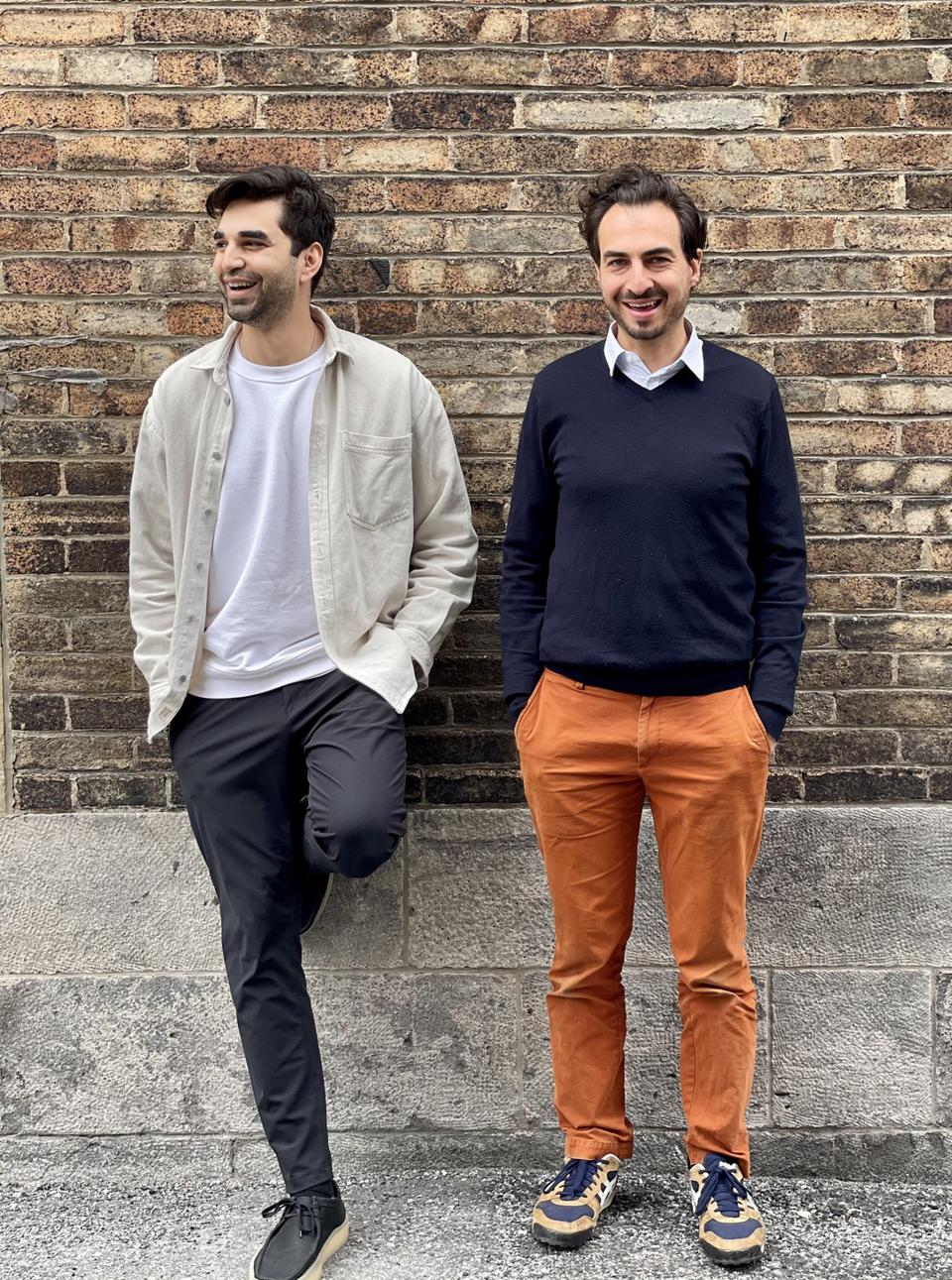 Co-founders Na'eem Adam and Thierry Rassam
