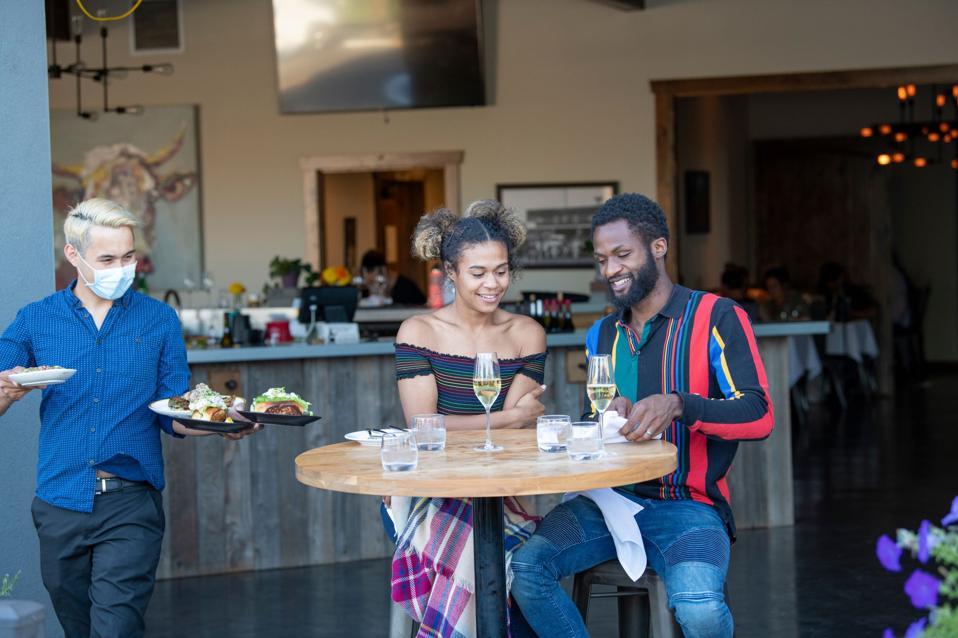 Black couple wine tasting in Willamette Valley