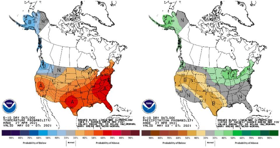 6-10 day outlook