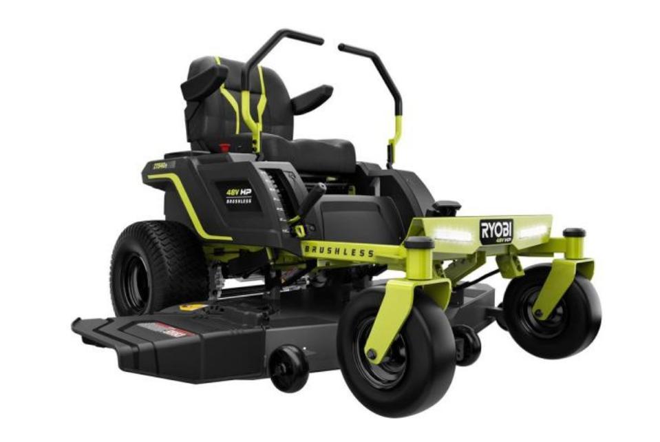 Ryobi 54-in. Electric Riding Zero Turn Mower