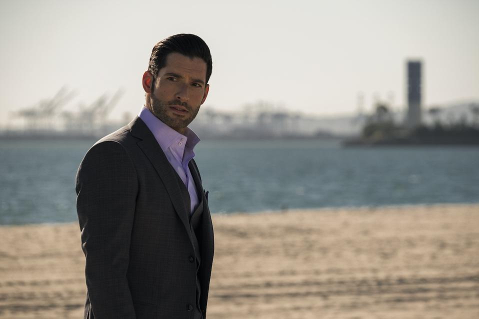 Tom Ellis returns for Part B of Season 5 in the Netflix series 'Lucifer'.