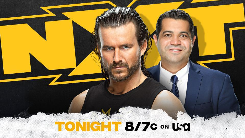 Adam Cole is scheduled to appear live with Arash Markazi on WWE NXT