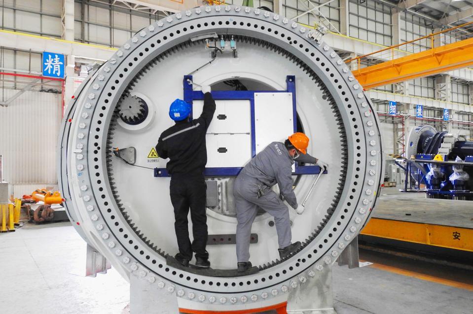 Wind Turbine Blade Manufacturing In Lianyungang