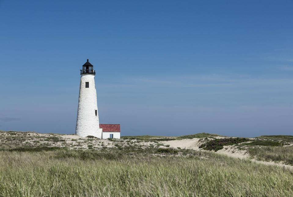 Great Point Lighthouse on Nantucket Island ...