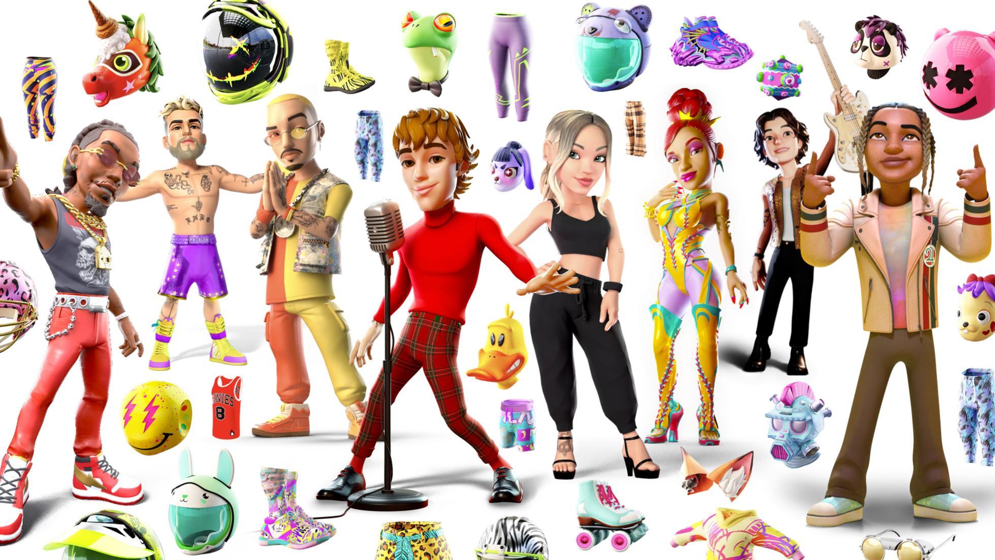 Genies avatar lineup